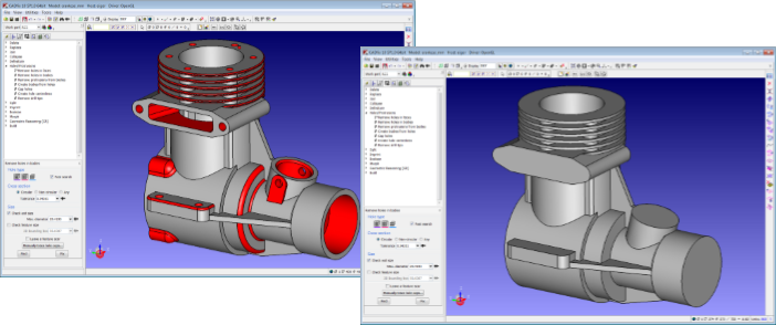 CADfix Simplification of CAD for CAE