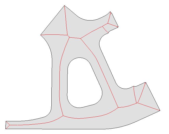 CADfix 2D Medial Object