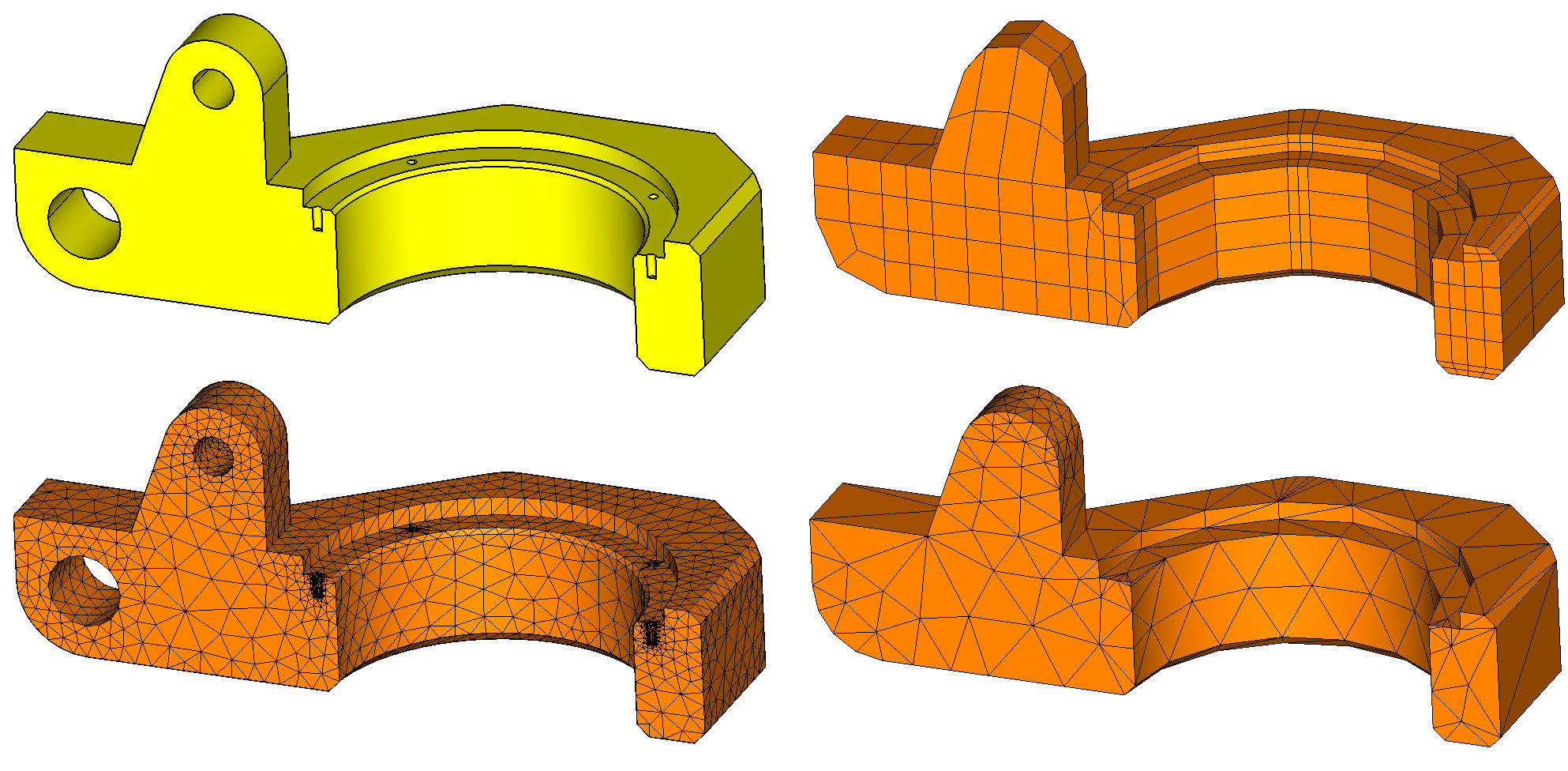cad to cae meshing