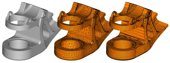 Repair and Simplify CAD models before generating STL