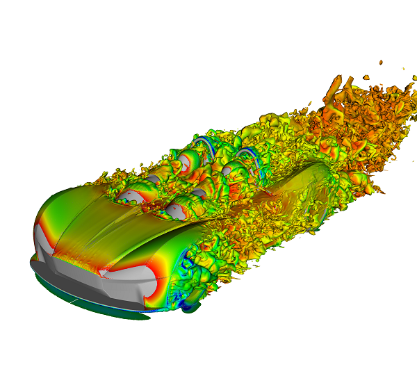CFD simulation of the Elemental RP1