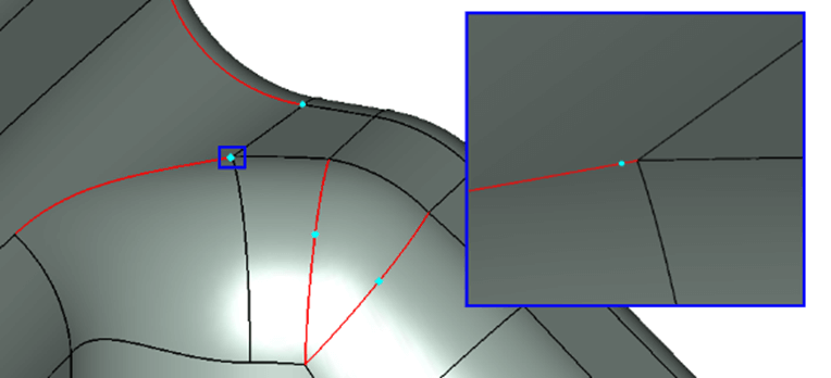Issues such as short edges in CAD can cause problems in meshing